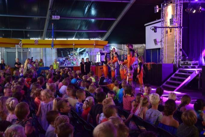 Schoolfeest is begonnen met Kinderfeest!