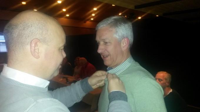 Henk Dollekamp 25 jaar bij het Schoolfeest, 3 nieuwe commissieleden
