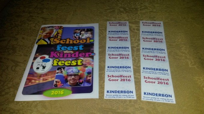 Goorse Basisschoolkinderen krijgen eigen Kinderfeestboekje en Kermisbonnen