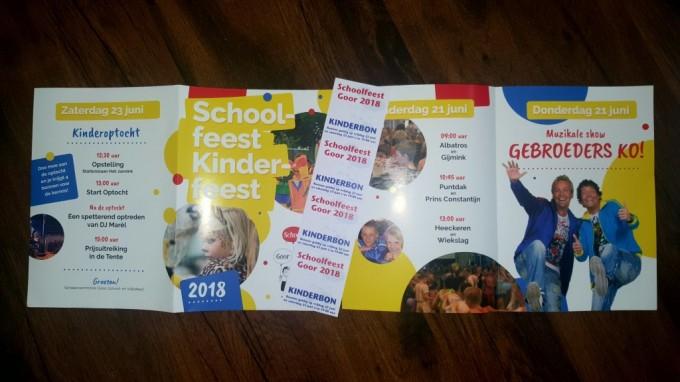 Basisschoolleerlingen krijgen eigen Schoolfeestboekje en Kermisbonnen